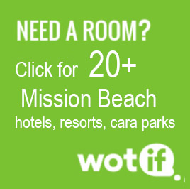 Click to book Mission Beach hotels on Wotif